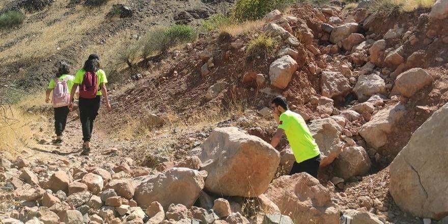 Kaybolan Miraç'ı arama çalışmaları 14'üncü gününde