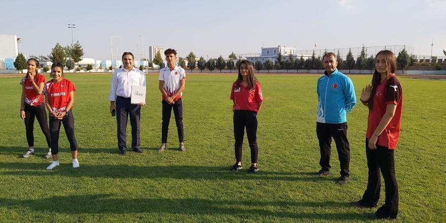 Bağlar Belediyespor'un milli sporcusu bağımlılığa dikkat çeken kamu spotunda