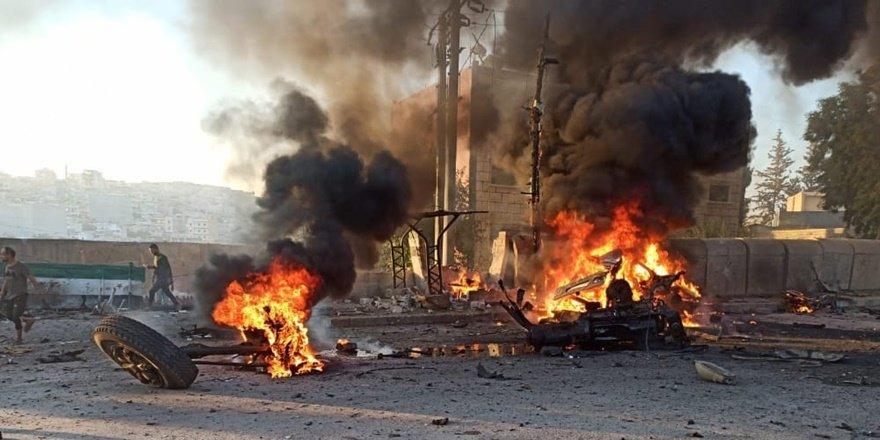 Afrin'debombalı saldırı: 3 ölü 14 yaralı