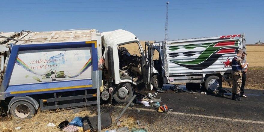 Diyarbakır'da trafik kazası: 2 ölü, 2 yaralı