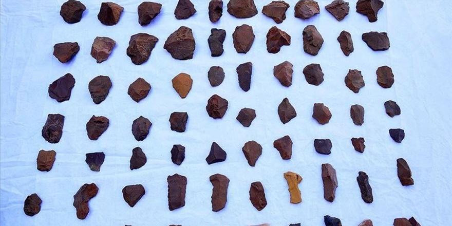 Tunceli'de 'taş devri' kalıntılarına ulaşıldı
