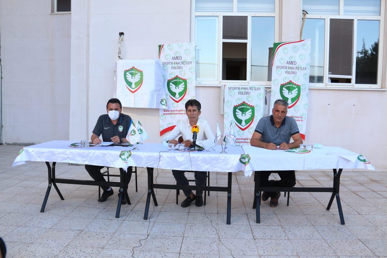 Amedspor Kulüp Başkanı açıkladı: Önemli transferler olacak