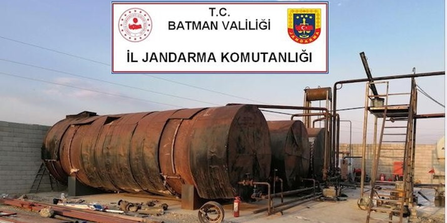Batman'da 41 bin 760 litre kaçak akaryakıt ele geçirildi
