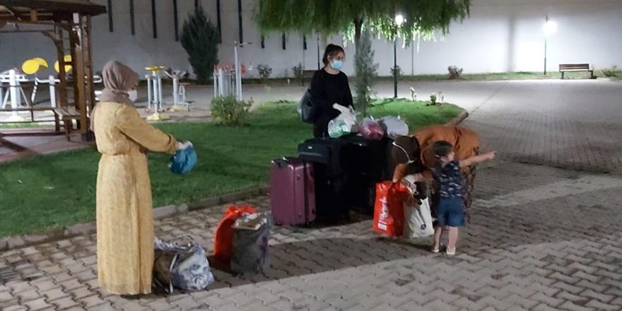 Iraklı aile Diyarbakır'da öğrenci yurduna yerleştirildi