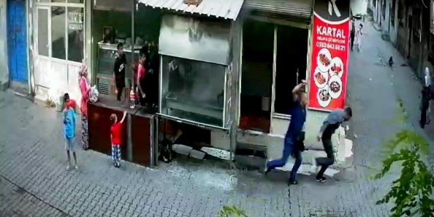 Diyarbakır'da erkek şiddeti kameralara yansıdı