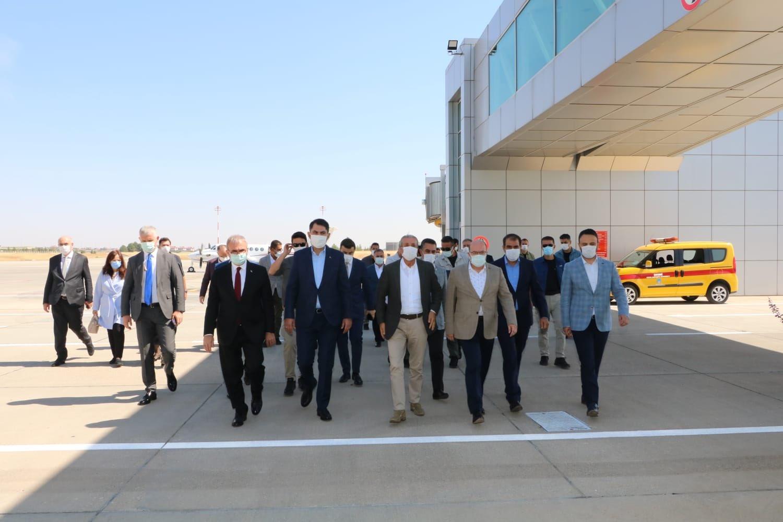 Çevre ve Şehircilik Bakanı Kurum Diyarbakır'da