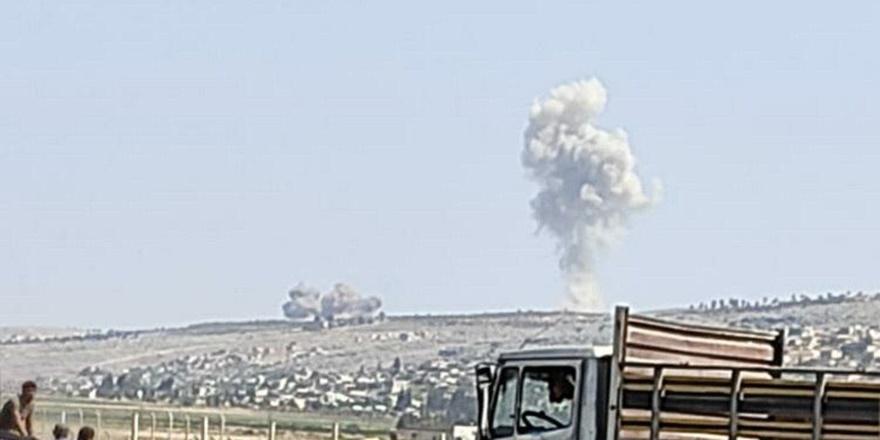 Ruslardan İdlib'e hava saldırısı