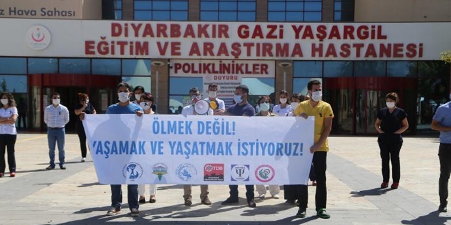 Diyarbakır'da koronaya yakalanan sağlıkçıların sayısı artıyor
