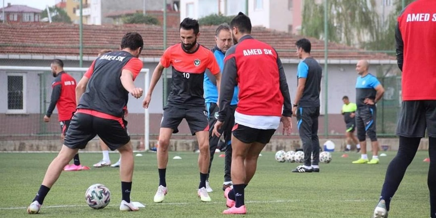 Amedspor Trabzon deplasmanında