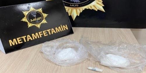 Muş'ta uyuşturucu ticareti yapan 2 kişi tutuklandı