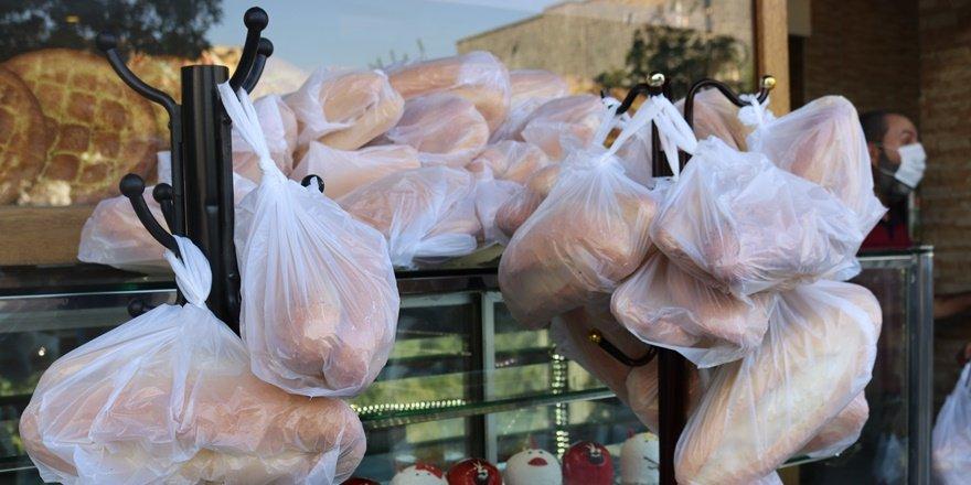 Bahçeli'nin 'askıda ekmek' kampanyasına Diyarbakır'dan destek