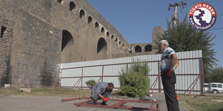 VİDEO - Diyarbakır'ın simgeleri onarılıyor