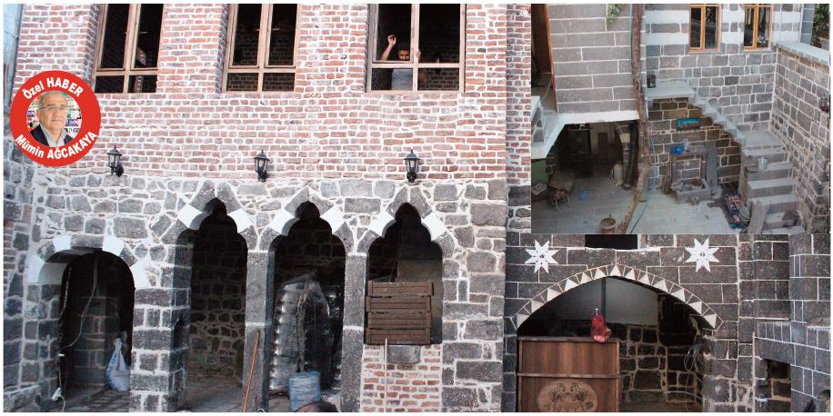 VİDEO - Sur'daki tarihi evler onarılıyor