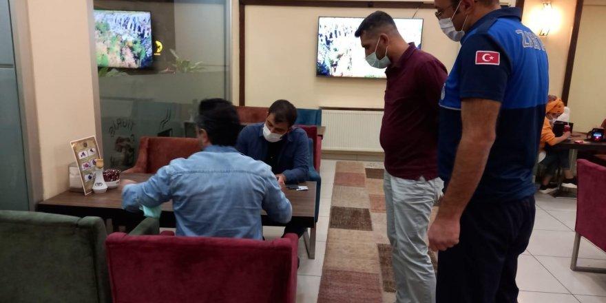 Diyarbakır'da kafe ve restoranlar denetlendi