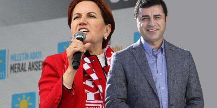 Akşener: HDP ile ittifak yok, bunu söyleyen yalancıdır