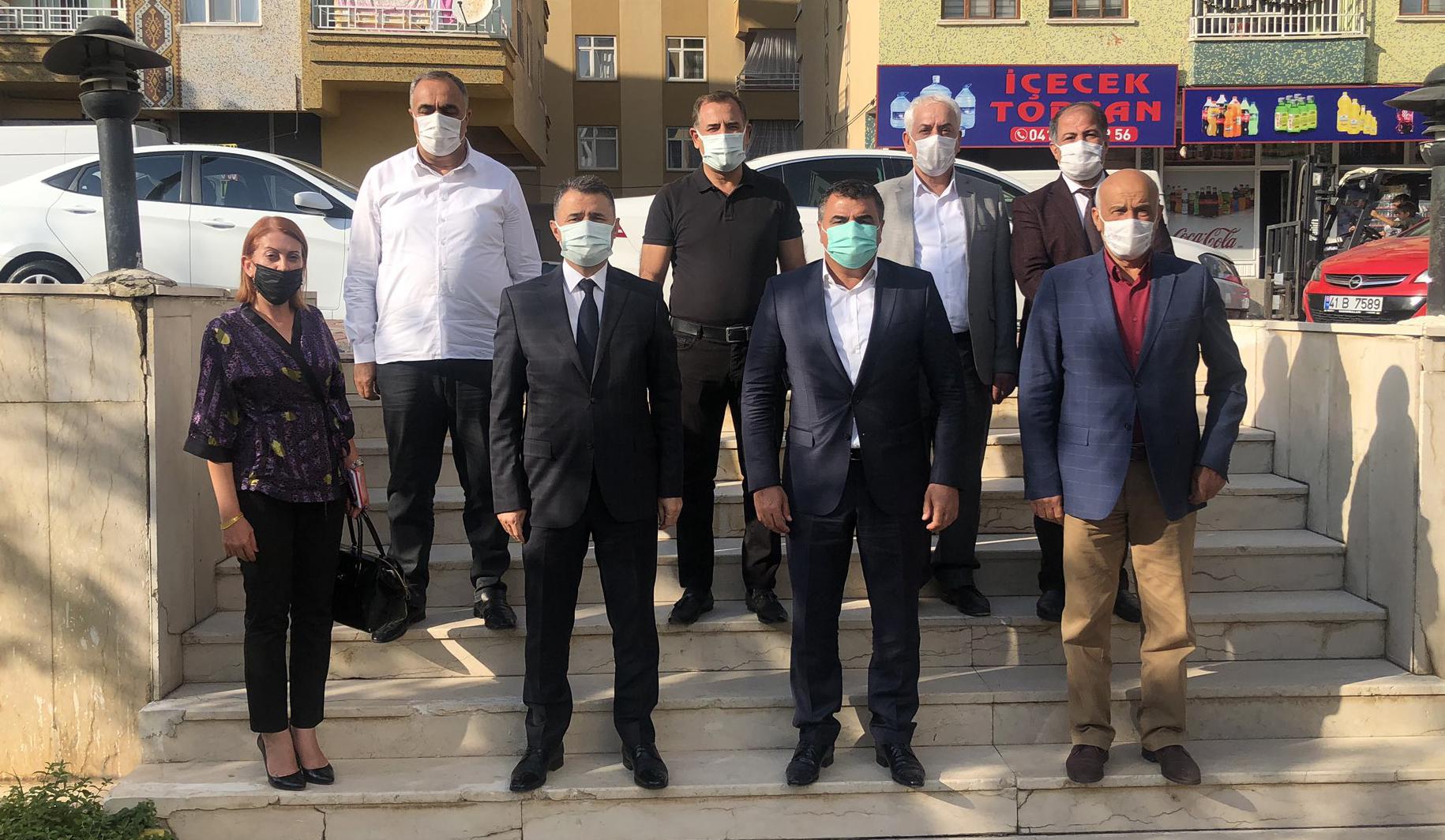 Diyarbakır İl Milli Eğitim Müdüründen DESOB'a ziyaret