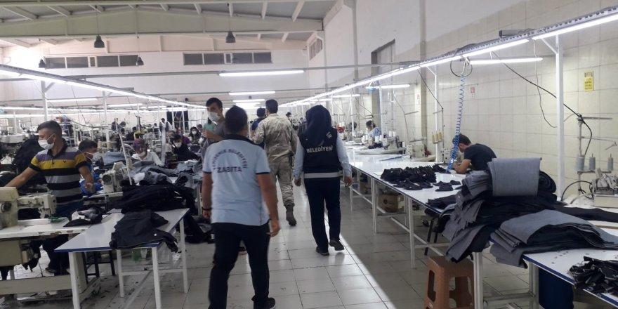 Yenişehir'de korona virüs denetimi devam ediyor