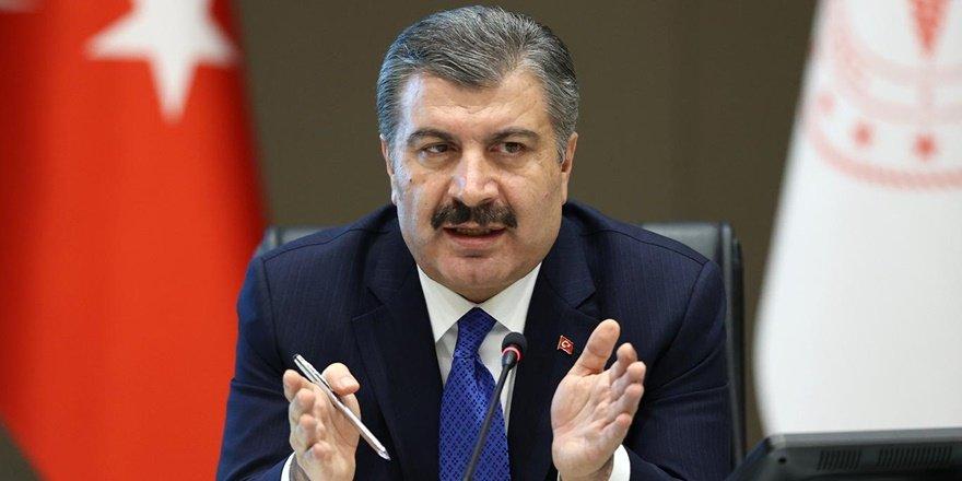 Sağlık Bakanı Koca: Birlikte mücadele edelim