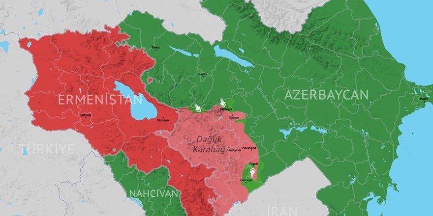 Azerbaycan ve Ermenistan arasındaki ateşkes yürürlükte