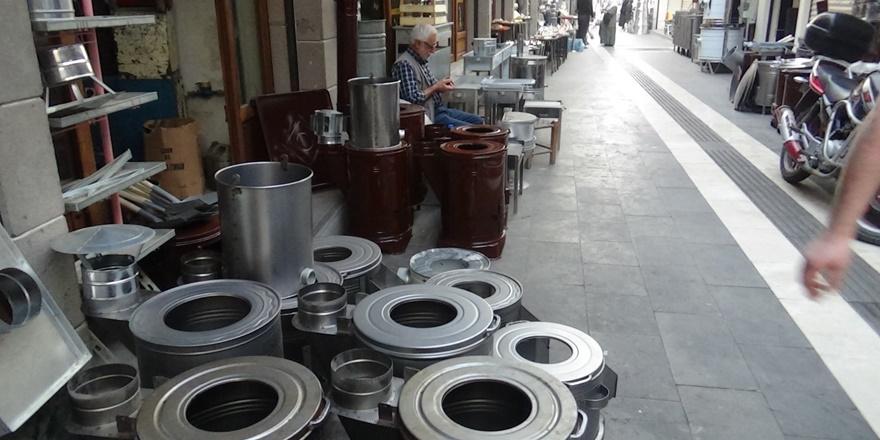 Diyarbakır'da doğalgazın yaygınlaşması soba üreticilerini vurdu