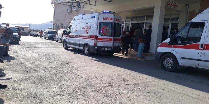 Diyarbakır Kulp'ta motosiklet kazası