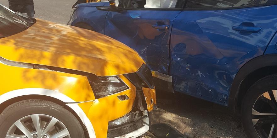 Diyarbakır'da aşırı hız ve dikkatsizlik kazaya neden oldu: 1 yaralı