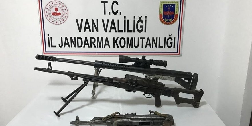 Van Başkale'de operasyon