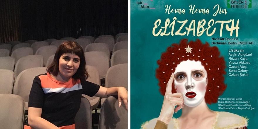 Amed Şehir Tiyatrosu, 'Hema Hema Jin Elizabeth'le başlıyor