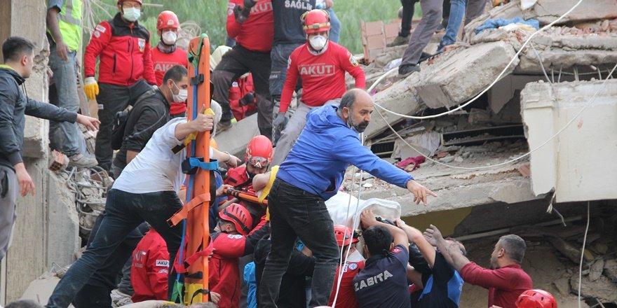 İzmir depremi: 6 kişi öldü, 257 yaralı