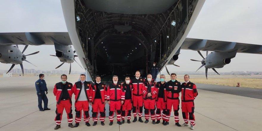 Diyarbakır'dan ekipler deprem bölgesine sevk edildi