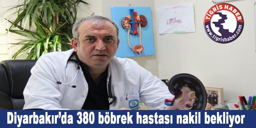 Diyarbakır'da 380 böbrek hastası nakil bekliyor