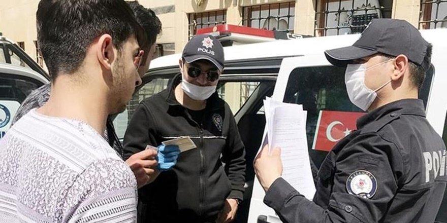 Antep'te korona tedbirlerine uymayan 647 kişiye ceza