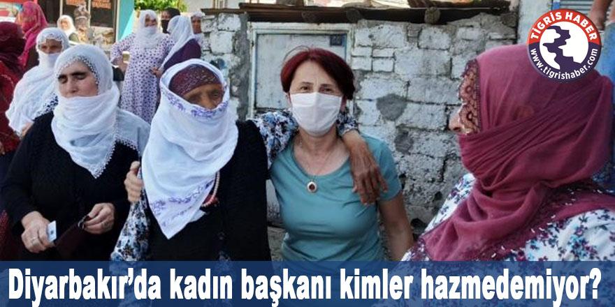 Diyarbakır'da kadın başkanı kimler hazmedemiyor?