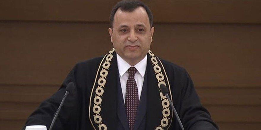 AYM Başkanı Arslan: Masumiyet karinesini ihlaline dikkat