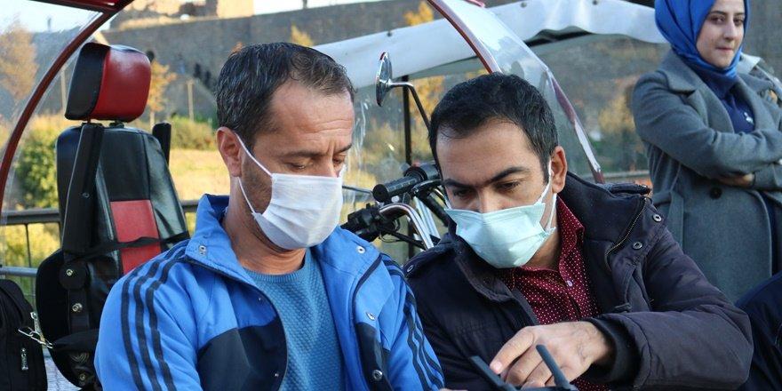 Fotono-21 Fotoğraf Derneği 'nden engellilere drone eğitimi