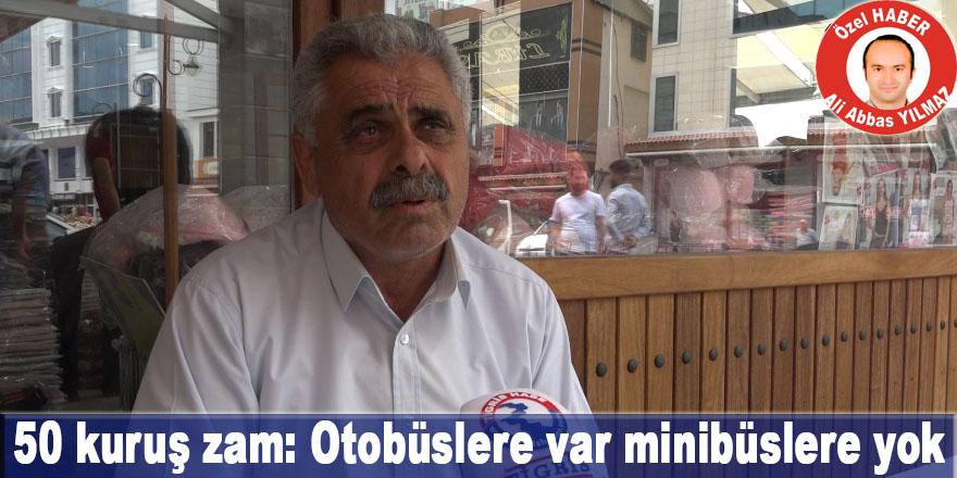 VİDEO - Diyarbakır'da toplu ulaşıma zam: Otobüslere var minibüslere yok
