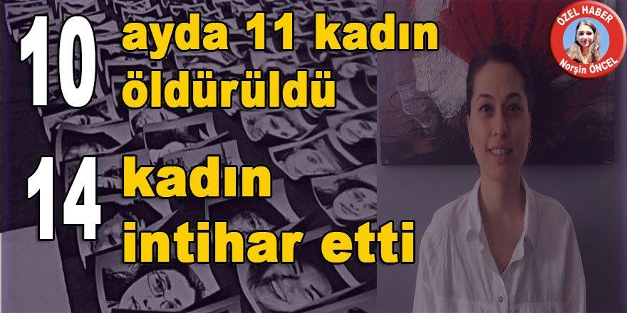 Diyarbakır'da 10 ayda 11 kadın öldürüldü, 14 kadın intihar etti