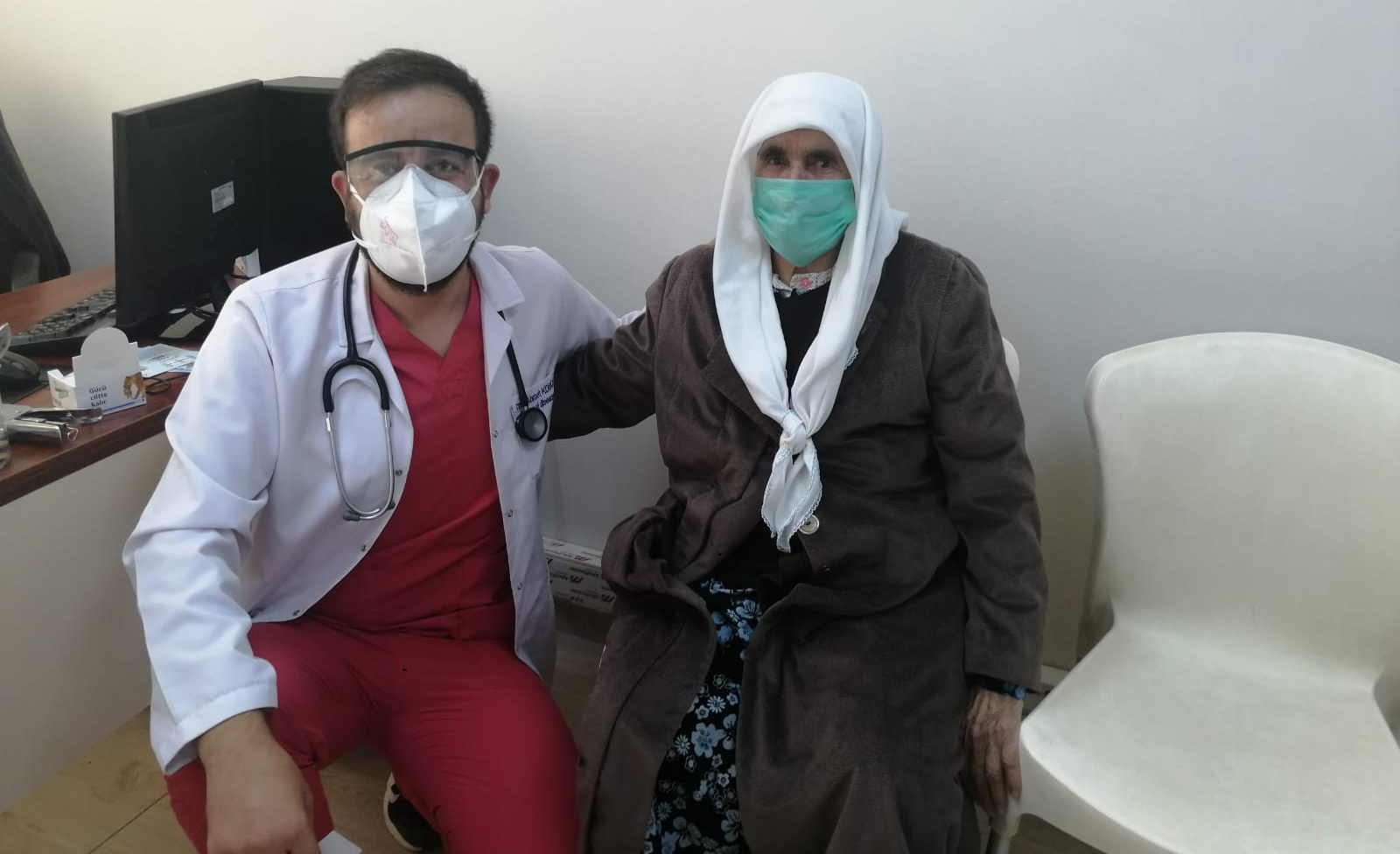 Diyarbakır'da 95 yaşındaki kadın korona virüsü yendi