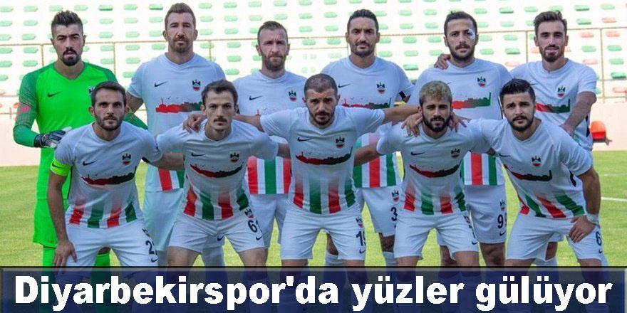 Diyarbekirspor'da yüzler gülüyor