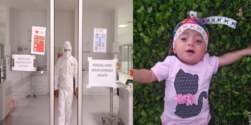1 buçuk yaşındaki bebek koronadan hayatını kaybetti