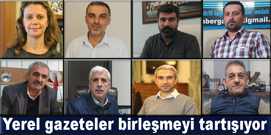 VİDEO- Diyarbakır'da yerel gazeteler birleşmeyi tartışıyor