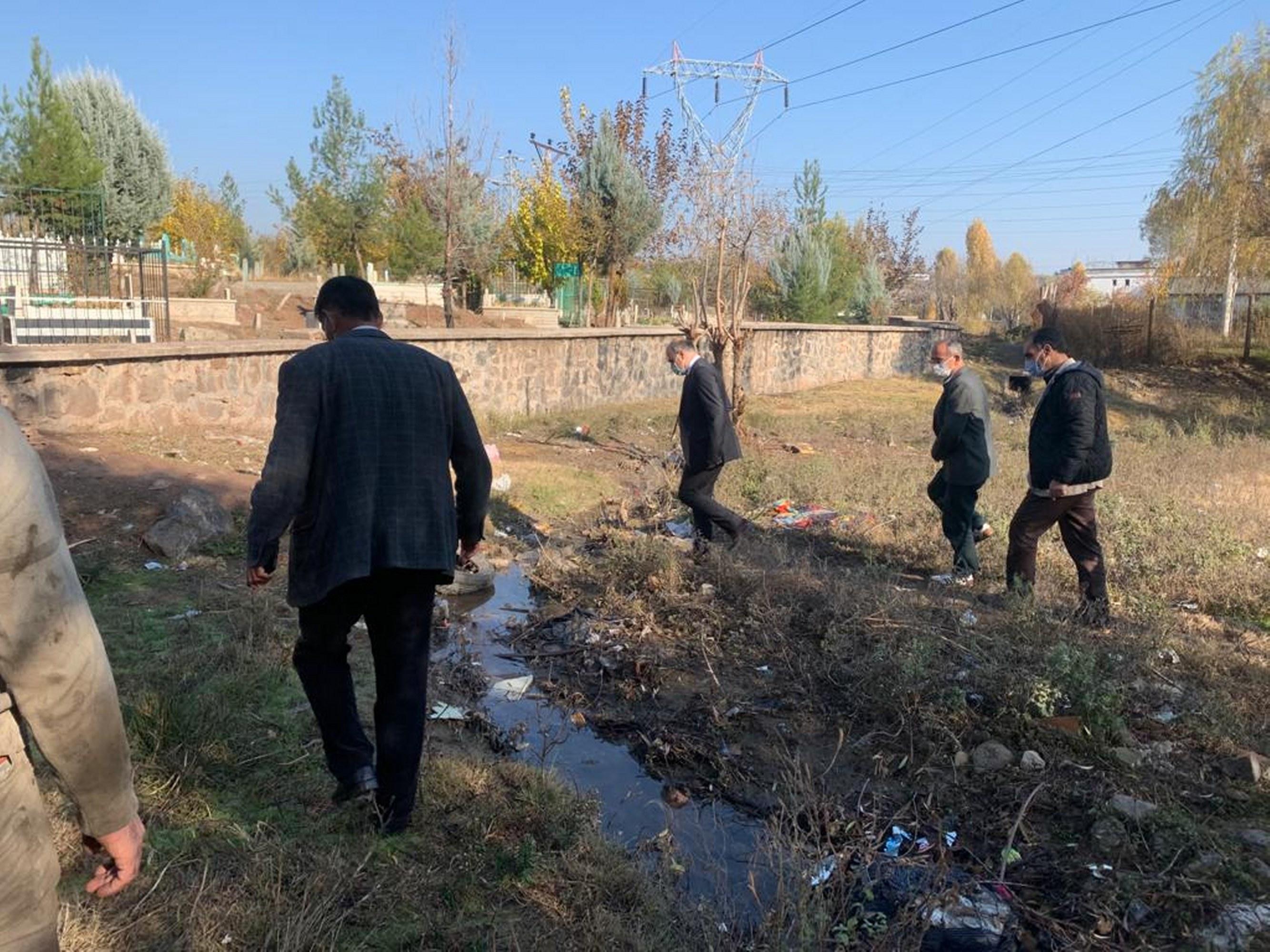 Diyarbakır'ın iki mahallesinde atık su sorunu çözülüyor