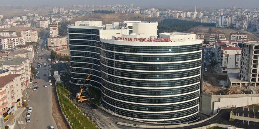Batman'da 810 yatak kapasiteli hastane açılıyor