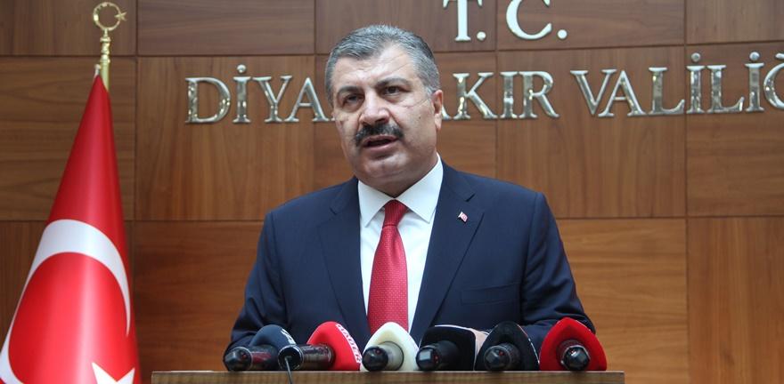 Bakan Koca: Diyarbakır şehir hastanesi 2023'te tamamlanacak