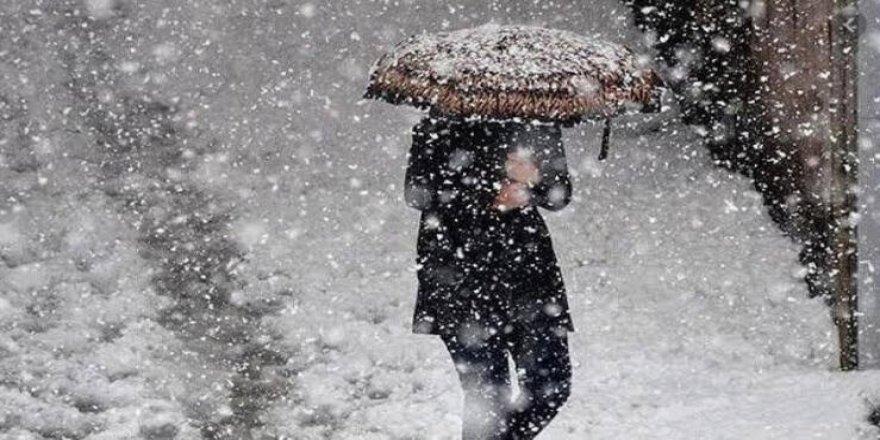 Meteorolojiden 5 il için yoğun kar uyarısı
