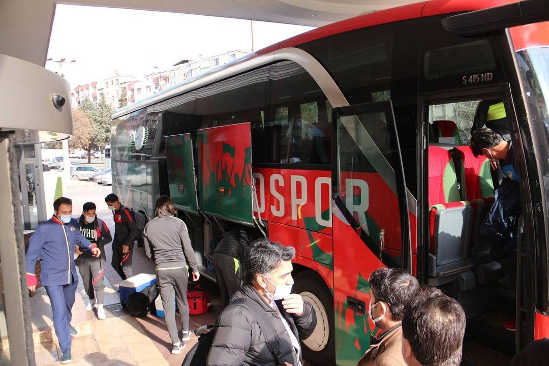 Amedspor kafilesi Maraş'ta