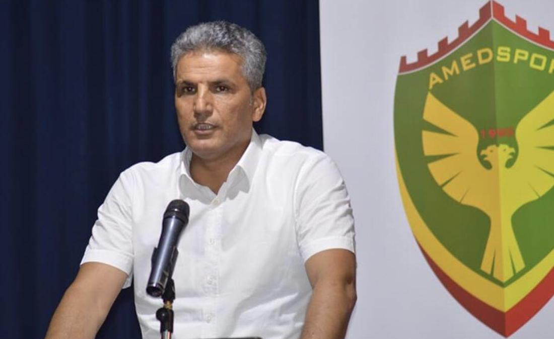 Amedspor As Başkanı Avcı Maraş yenilgisini rehavete bağladı
