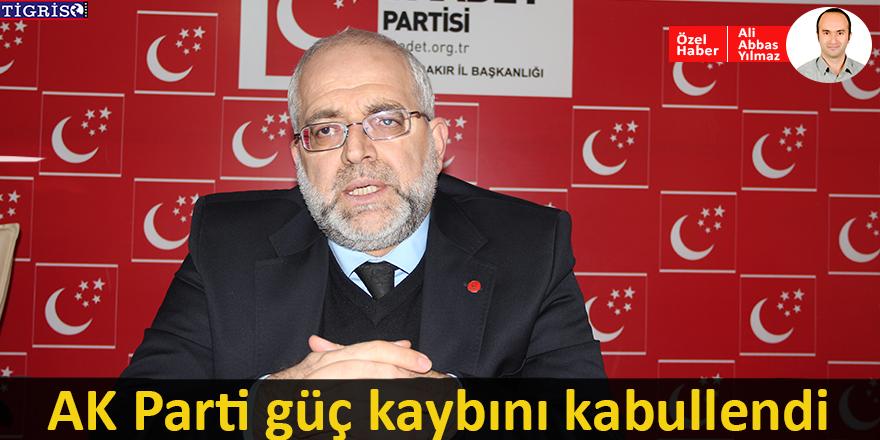 AK Parti güç kaybını kabullendi