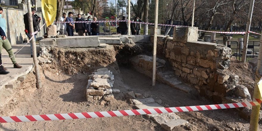 Selçuklu hükümdarının mezarı Diyarbakır'da bulundu