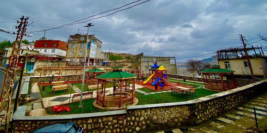 Diyarbakır Eğil'de aile parkı açılışı